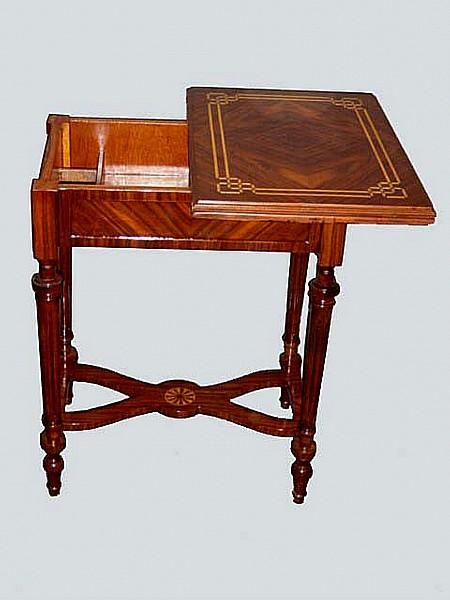 EXQUISITELY refined Louis XVI style game table