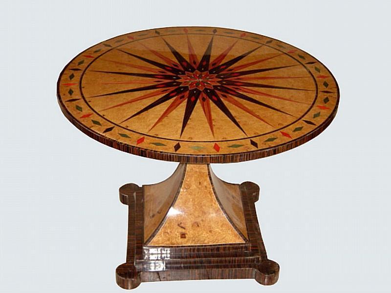 Masterpiece Vienna Biedermeier style card table