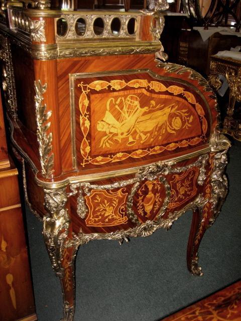 Bureau Du Roi Louis XV style, museum worthy piece!