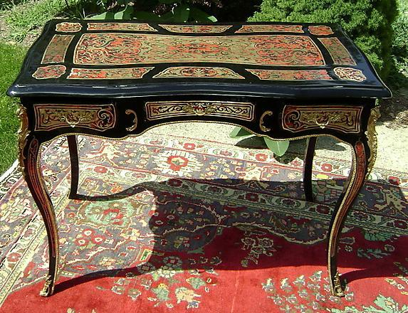 Supremely Elegant Louis XV Boulle Lady's Desk