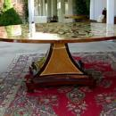 HUGE (86 inches!!!)FASCINATING  Biedermeier  table