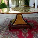 HUGE (86 inches!!!)FASCINATING  Biedermeier  table