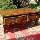 Large and elegant Edwardian coffee table