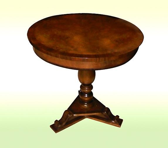 Lovely Edwardian style English walnut CENTER table