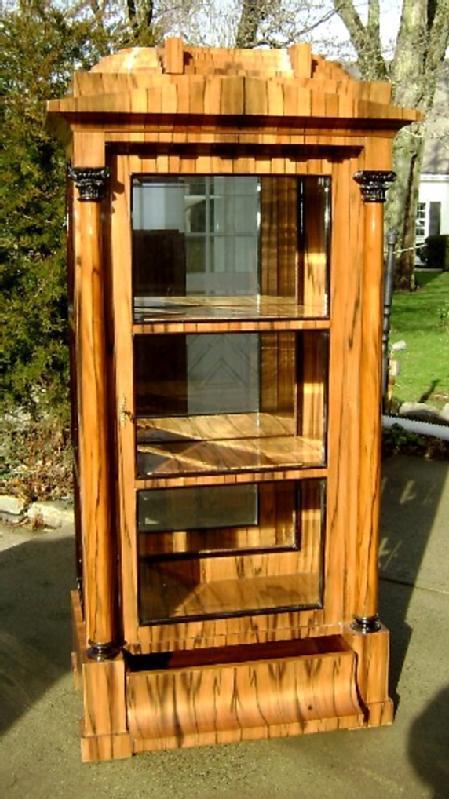 HIGH End Cherry wood  Biedermeier style cabinet
