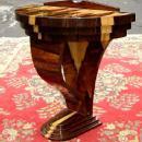 PHENOMENAL exotic rosewood Art Deco style console