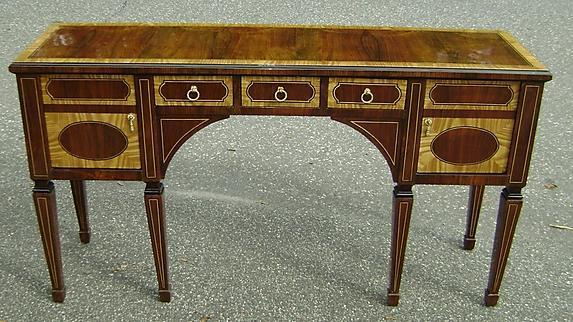 Quality English Edwardian Style sideboard