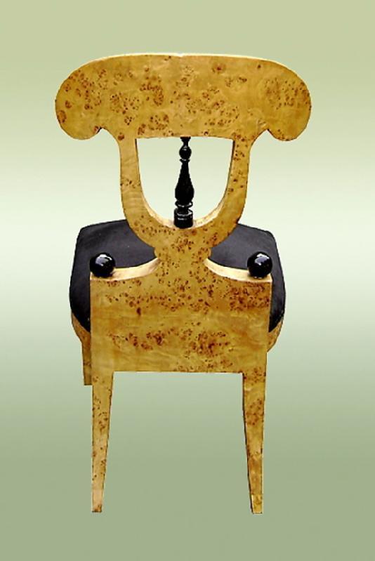 Sensational Set of Eight Biedermeier style chairs