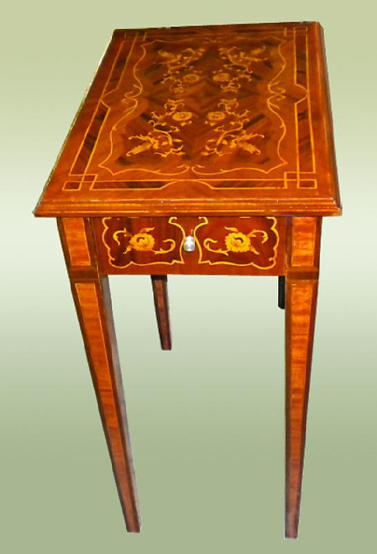 Awesome Florentine style marquetery lady's desk