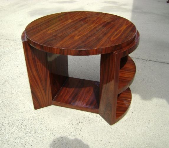 Rosewood LARGE Art Deco style table