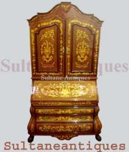 Monumental  Dutch  style  Secretary bookcase