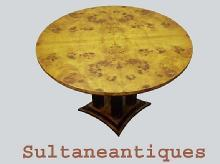 Impeccable Art Deco inspired LARGE center table