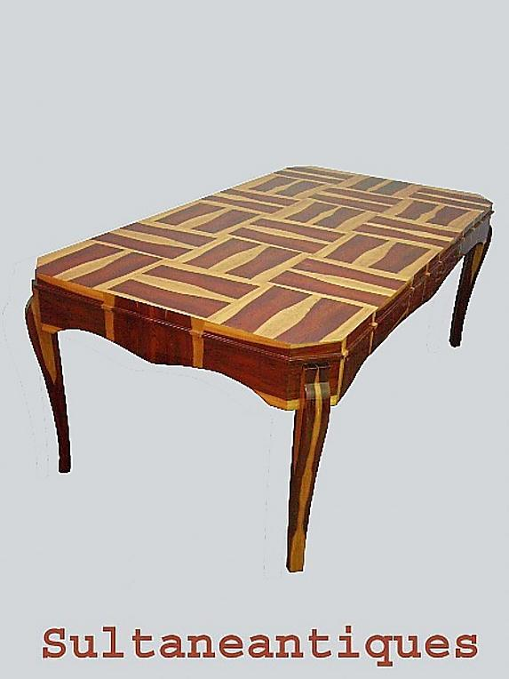 COMPLETELY STUNNING Art Deco style Conference table