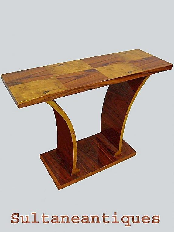 PERFECT Classic Art Deco style Parquetry Console