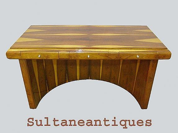 ROYAL purest form Art Deco style rare Rosewood DESK