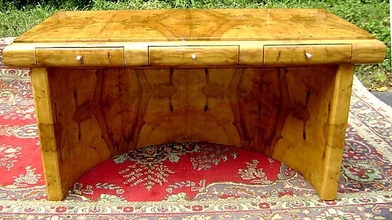 MASTER Art Deco style Imperial Olivewod DESK