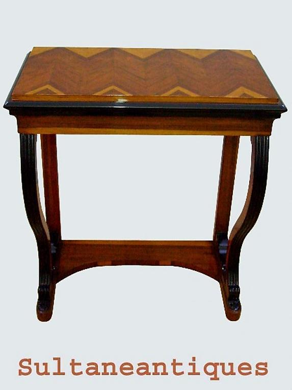 LARGE Rosewood Biedermeier style console PRISTINE!