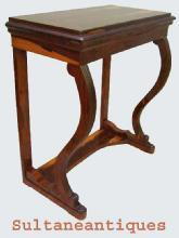 LARGE and high Biedermeier style console Mint!