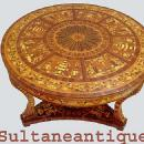 Masterpiece!! Antique Italian style Large center table