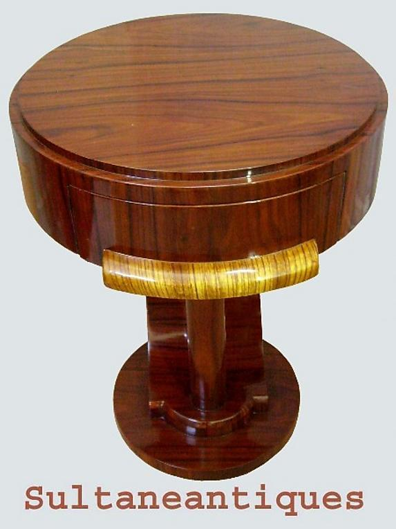 Masterpiece side Commode in unusual inspired Art Deco
