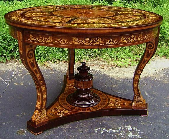 Masterpiece!!! Large center table Italian style