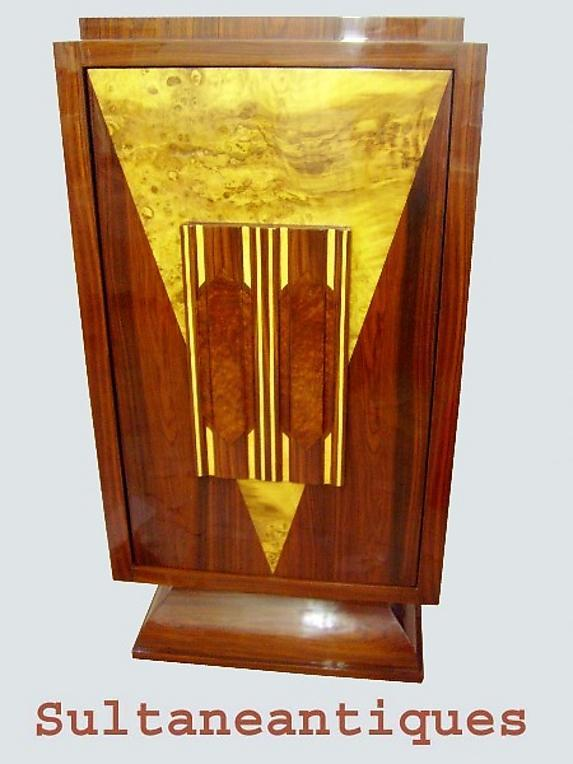 Unique BAR with swinging door Art Deco inspired
