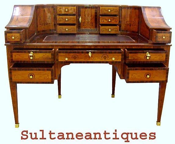 Imperial STUNNING hepplewhite style Carlton house Desk
