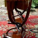 MAGNIFICENT PAIR of French Thonet style side tables