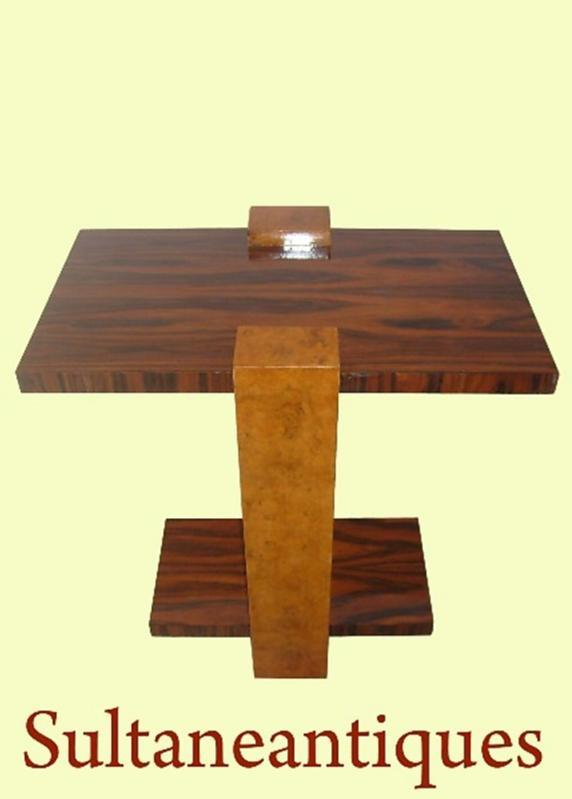 classic Art Deco style side table