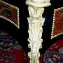 Grand aristocratic Louis XV style Boulle desk