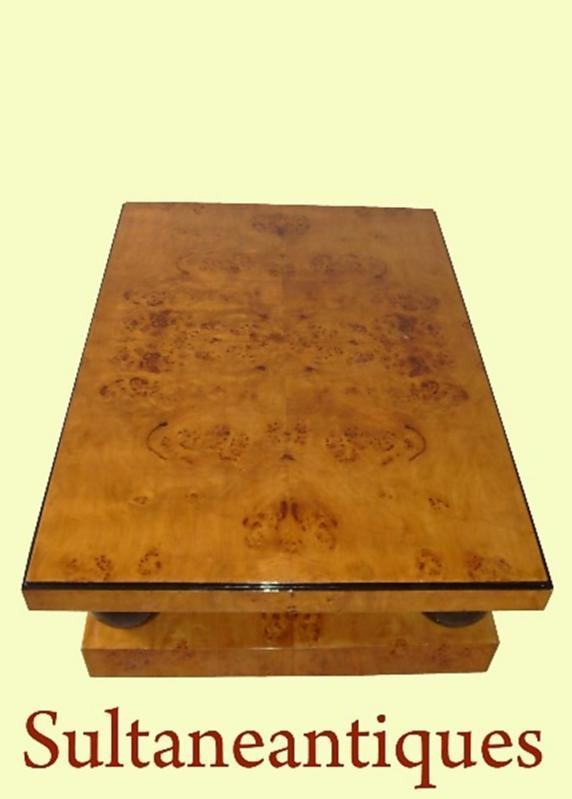 Pure Classic Huge Art Deco style coffee table