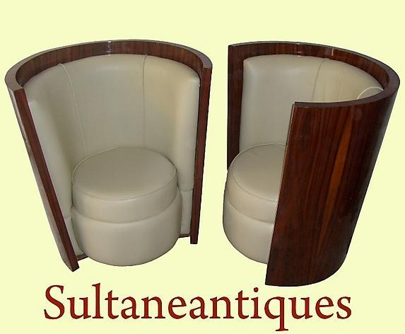 EXTRAVAGANZA in Art Deco style  chairs.
