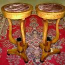 OUTSTANDING Pair of Art Deco style stands