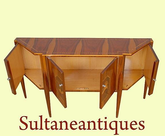 JUST Magnificent!!Art Deco inspired Rosewood sideboard