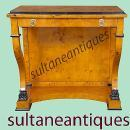 BEST Biedermeier style French Elm Console