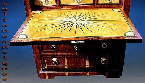 UNUSUAL Vienna Biedermeier style Chiffonnier rosewood