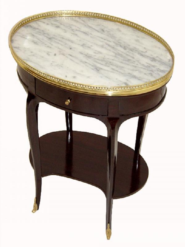 Aristocratic Marble & brass TOP Louis XV tables