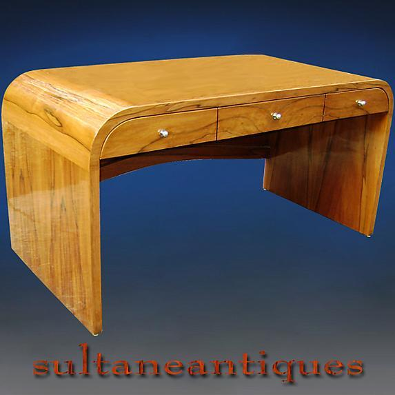 Classic cherry wood  Art Deco style + forms Desk