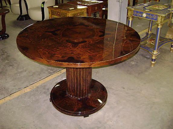 TOP QUALITY! Walnut Biedermeier style  center table