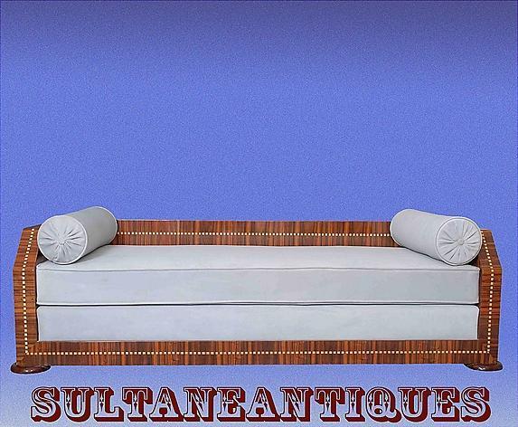 Unique Art Deco Style sofa, Ruhlman inspired