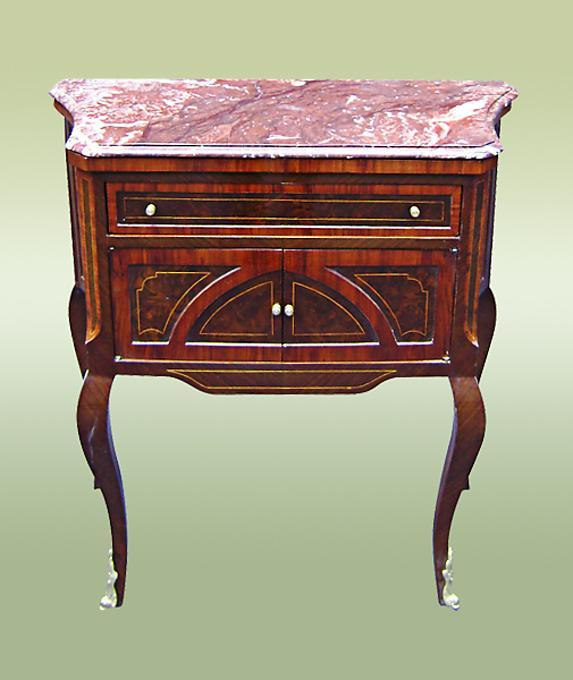 LARGE French Louis XV style Chest Table commode
