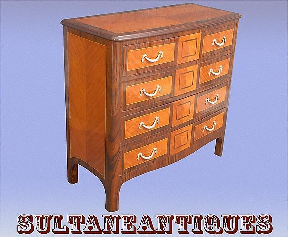 AWSOME set Napoleon III Style sideboard and commodes
