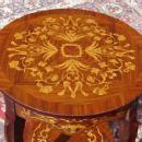 Full Marquetry Louis XV style side - wine table