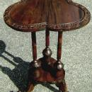 solid Mahogany Irish style side table