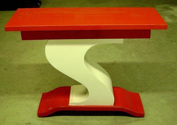 CLASSIC French Art Deco style S console.