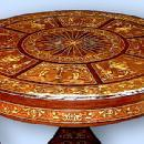 Absolutely Fabulous inlaid Florentine center table