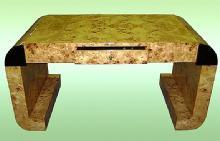 UNCOMMON!!French Elm Art Deco style desk