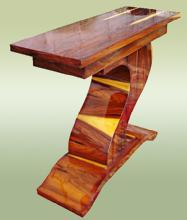 Brazilian Rosewood Art Deco style console
