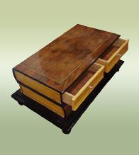 Perfect Bookshaped Art Deco style unusual coffee table