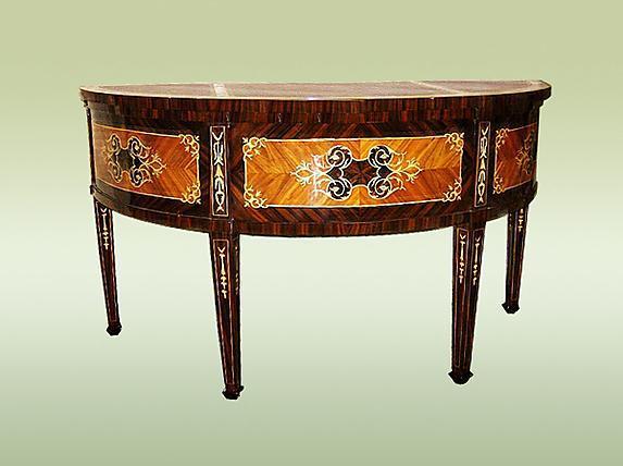 luxurious Italian 17th C. Style Florentine Desk